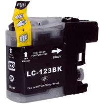 Compatible Brother LC123 ink cartridges Black