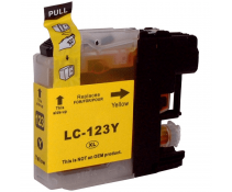 Compatible Brother LC123 Yellow ink cartridges | Print Head