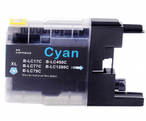 Compatible Brother LC1220 / LC1240 / LC1280 Cyan ink cartridges| Print Head
