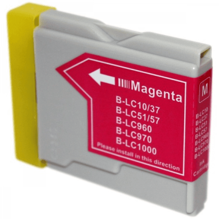Compatible Brother LC970 Magenta ink cartridges | Print Head