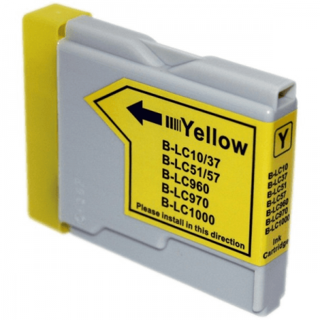 Compatible Brother LC970 Yellow ink cartridges | Print Head