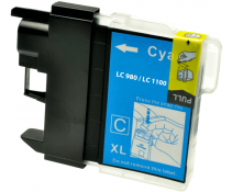 Compatible Brother LC980 Cyan ink cartridges | Print Head