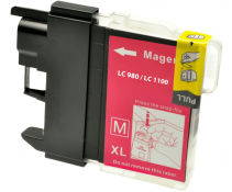 Compatible Brother LC980 Magenta ink cartridges | Print Head