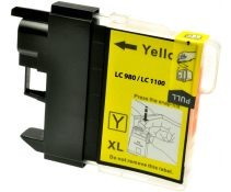 Compatible Brother LC980 Yellow ink cartridges | Print Head