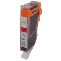 Compatible Canon CLI-521M Magenta ink cartridges