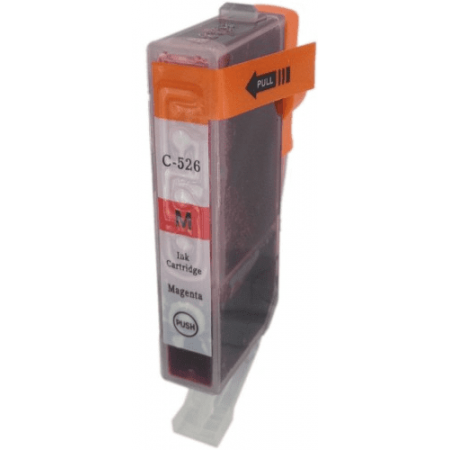 Compatible Canon CLI-526M Magenta ink cartridges