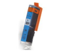 Compatible Canon Cyan CLI-551xl ink cartridges | Print Head