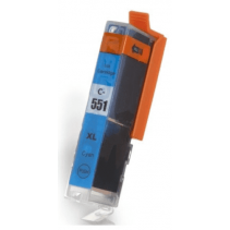 Compatible Canon Cyan CLI-551xl ink cartridges