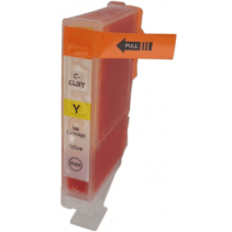 Compatible Canon CLI-8Y Yellow ink cartridges
