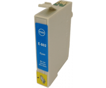 Compatible EPSON T0802 Cyan ink cartridges | Print Head