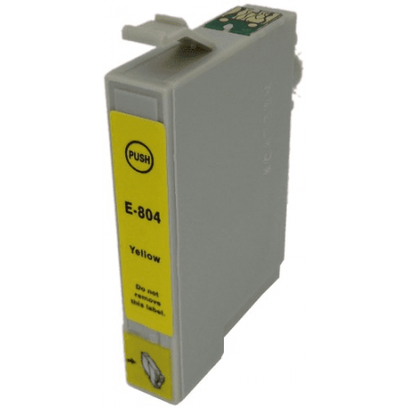 Compatible EPSON T0804 Yellow ink cartridges