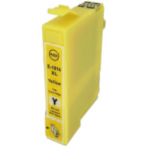 Compatible Epson T1804 XL Yellow ink cartridges