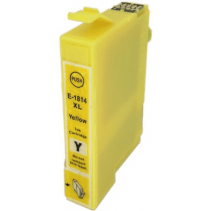 Compatible Epson T1814 XL Yellow ink cartridges